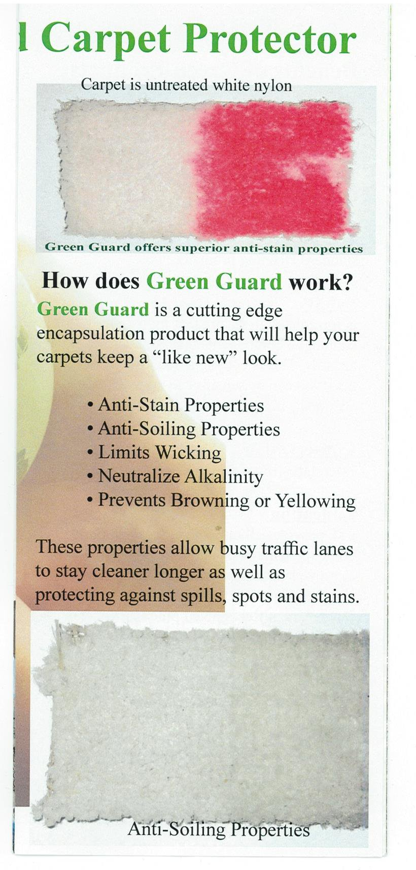 Green Guard Protector Treatment